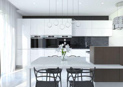 Návrh ultramoderného bytu- Prešov
