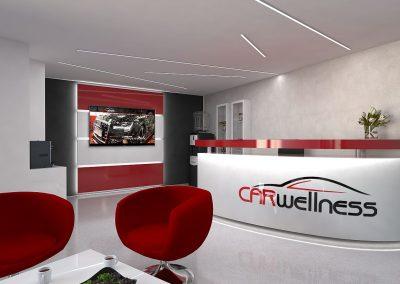 Návrh Carwellness office Mlyny – Nitra