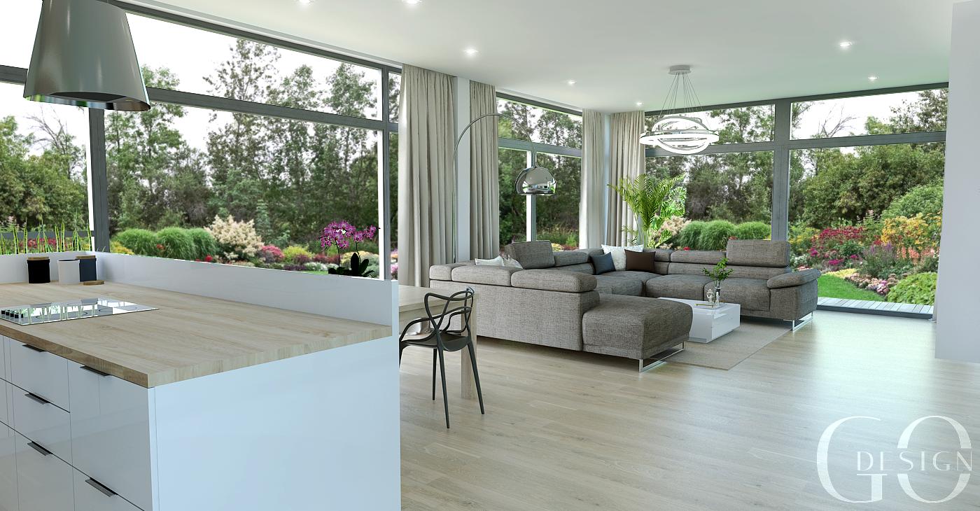 Návrh interiéru domu okres Levice_GO DESIGN_1