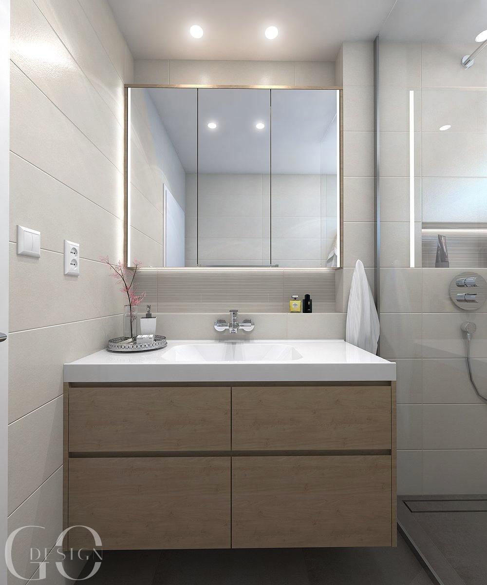 interiérový design kúpeľňa GO DESIGN