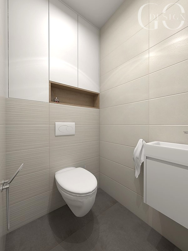 interiérový design toaleta GO DESIGN