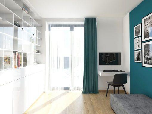 Moderný interiér v príjemnom šate