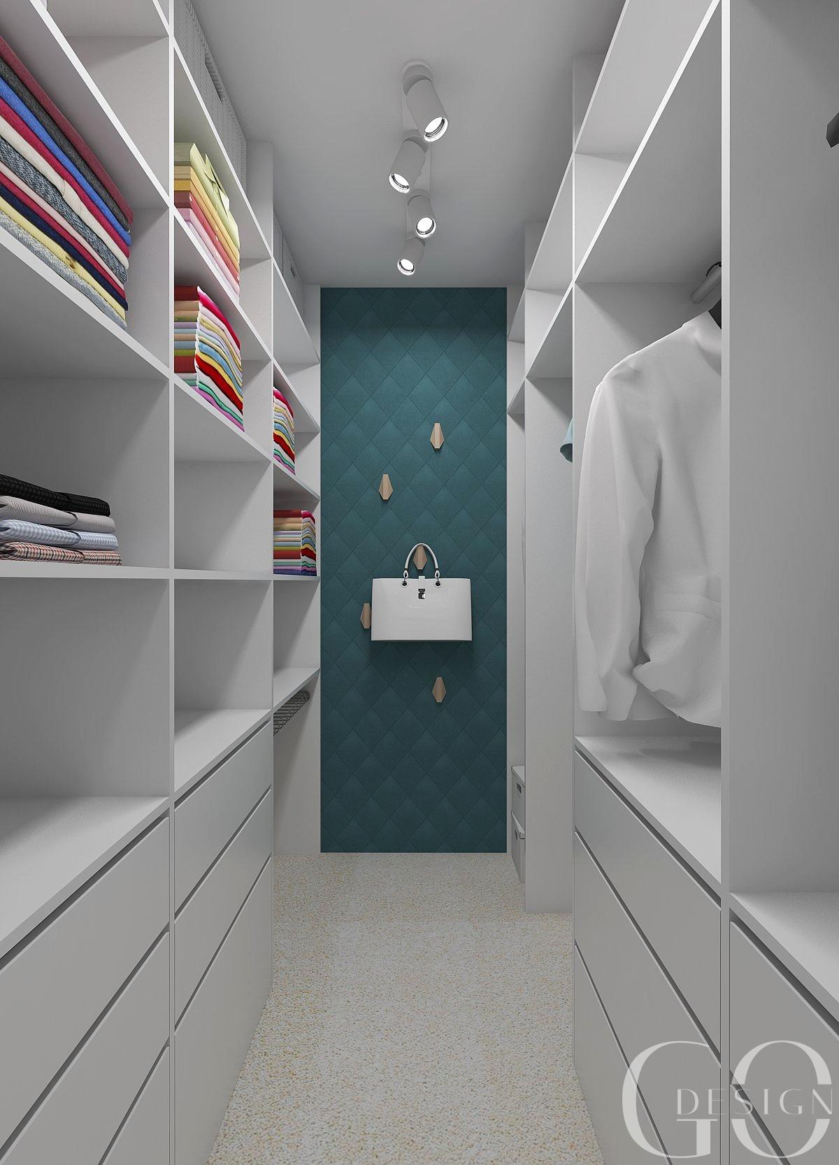 interiérový design šatník GO DESIGN