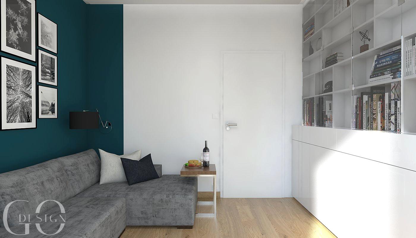 interiérový design hosťovská izba GO DESIGN