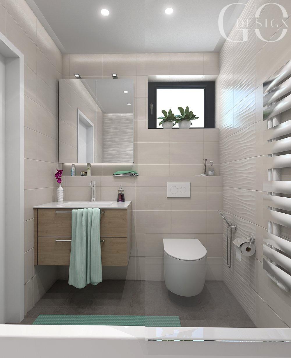 interiérový design kúpeľňa pri detskej izbe GO DESIGN
