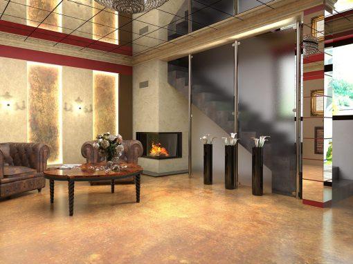Návrh showroomu Stone House – Sv. Jur