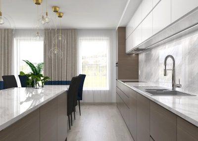 Návrh elegantného bytu v novostavbe Sofora – Bratislava