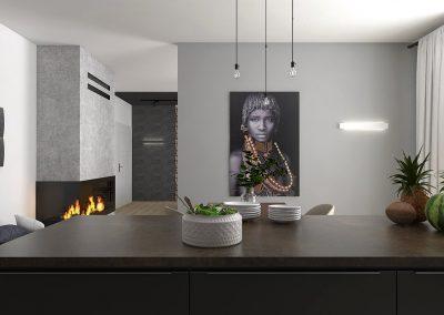 Návrh staromestského bytu v modernom štýle – Rožňava