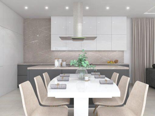 Návrh domu v minimalisticko-zdobnom štýle – Zlaté Moravce