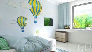 interierovy design GO DESIGN detska izba nitra