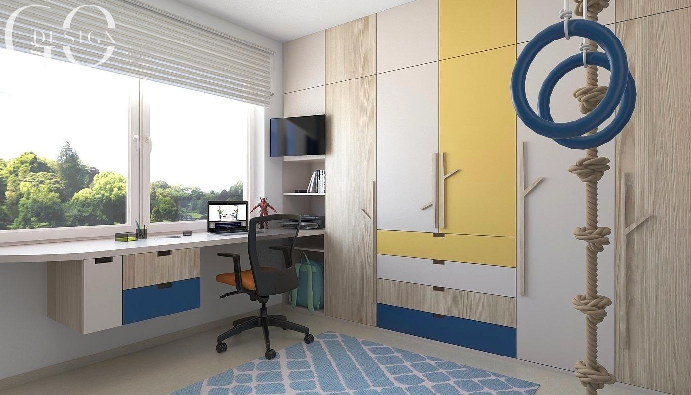 Detska izba interierovy dizajn navrh GO DESIGN kosice 1
