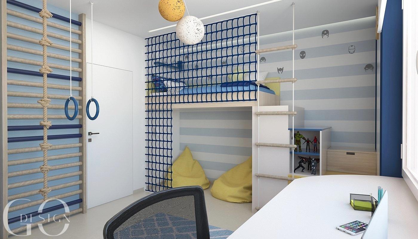 Detska izba interierovy dizajn navrh GO DESIGN kosice 2