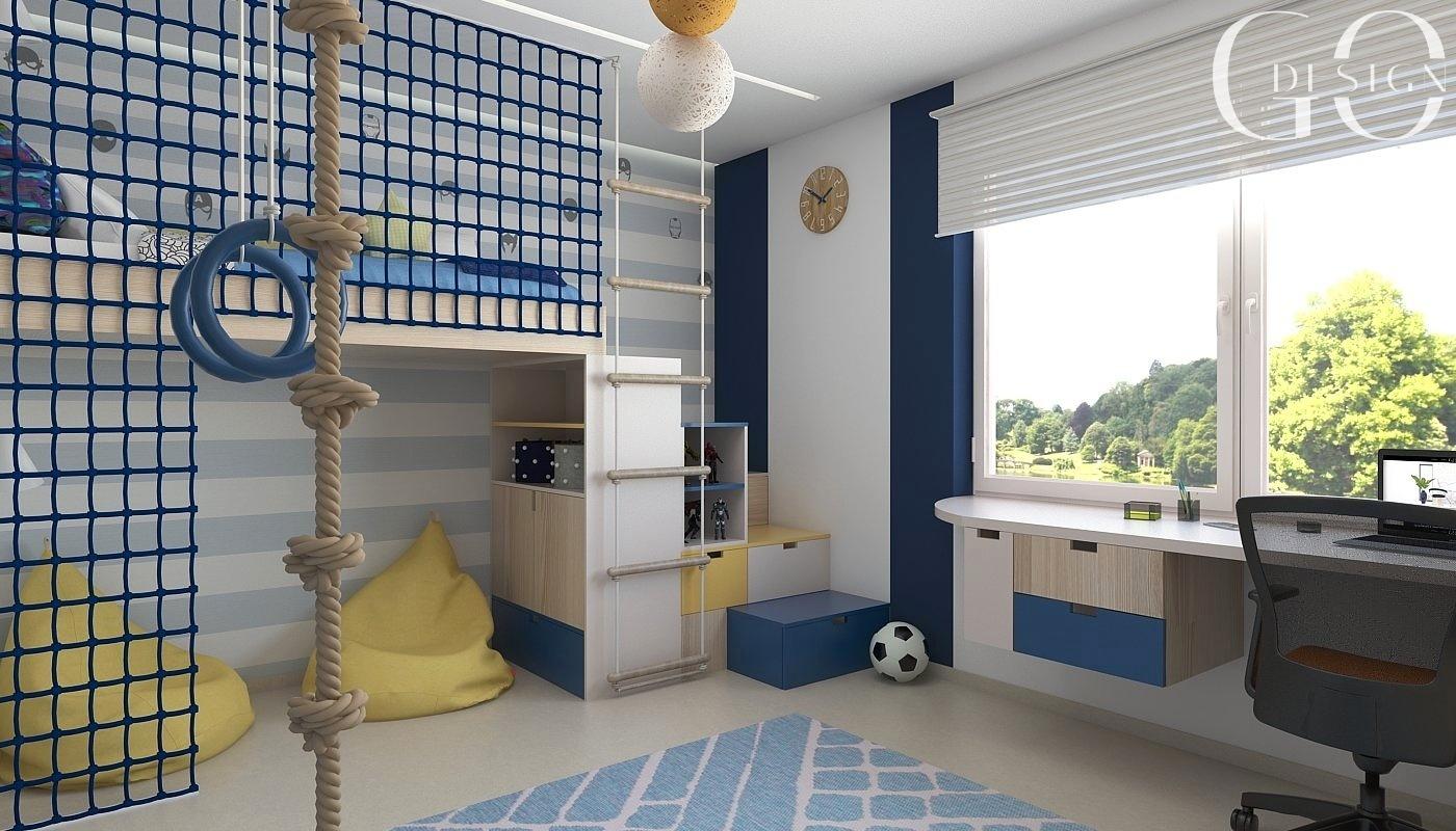 Detska izba interierovy dizajn navrh GO DESIGN kosice 3