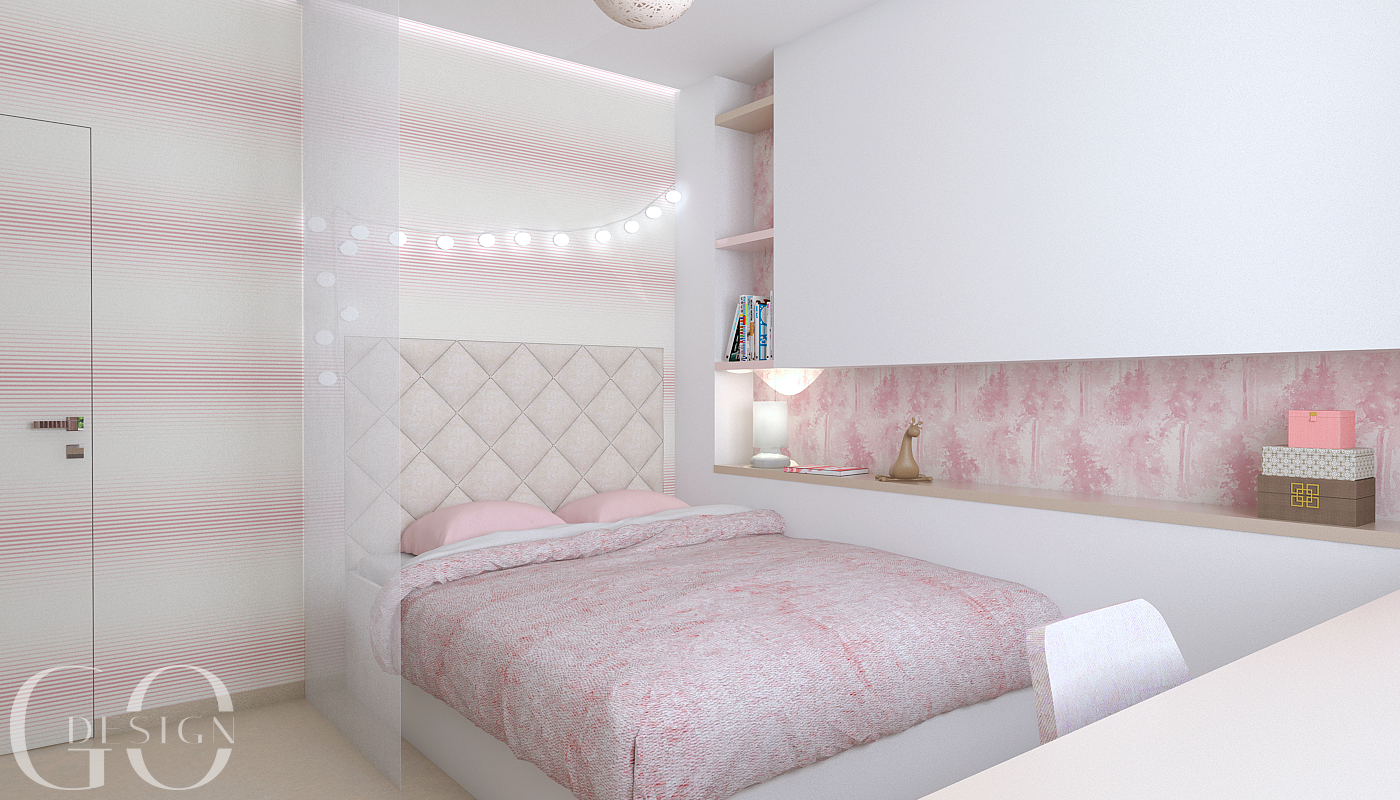 Detska izba interierovy dizajn navrh GO DESIGN kosice 6