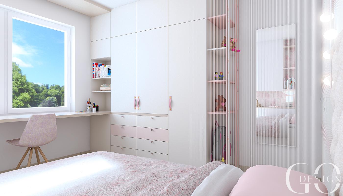Detska izba interierovy dizajn navrh GO DESIGN kosice 8