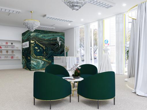 Návrh svadobného salóna – Zlaté Moravce