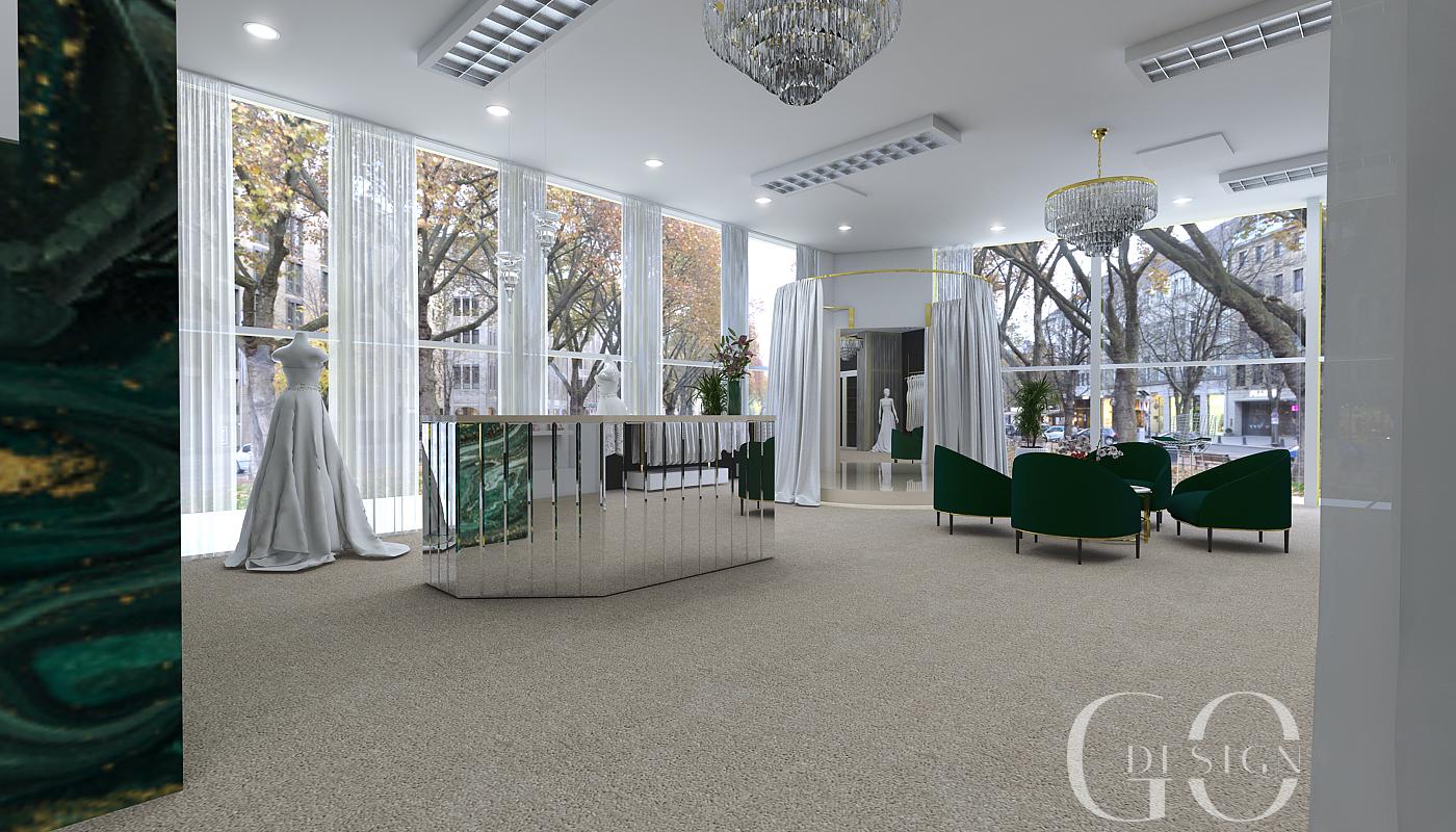 Svadobný salón dizajn GO DESIGN ZM_7