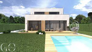 Interierovy dizajn GO DESIGN návrh fasády