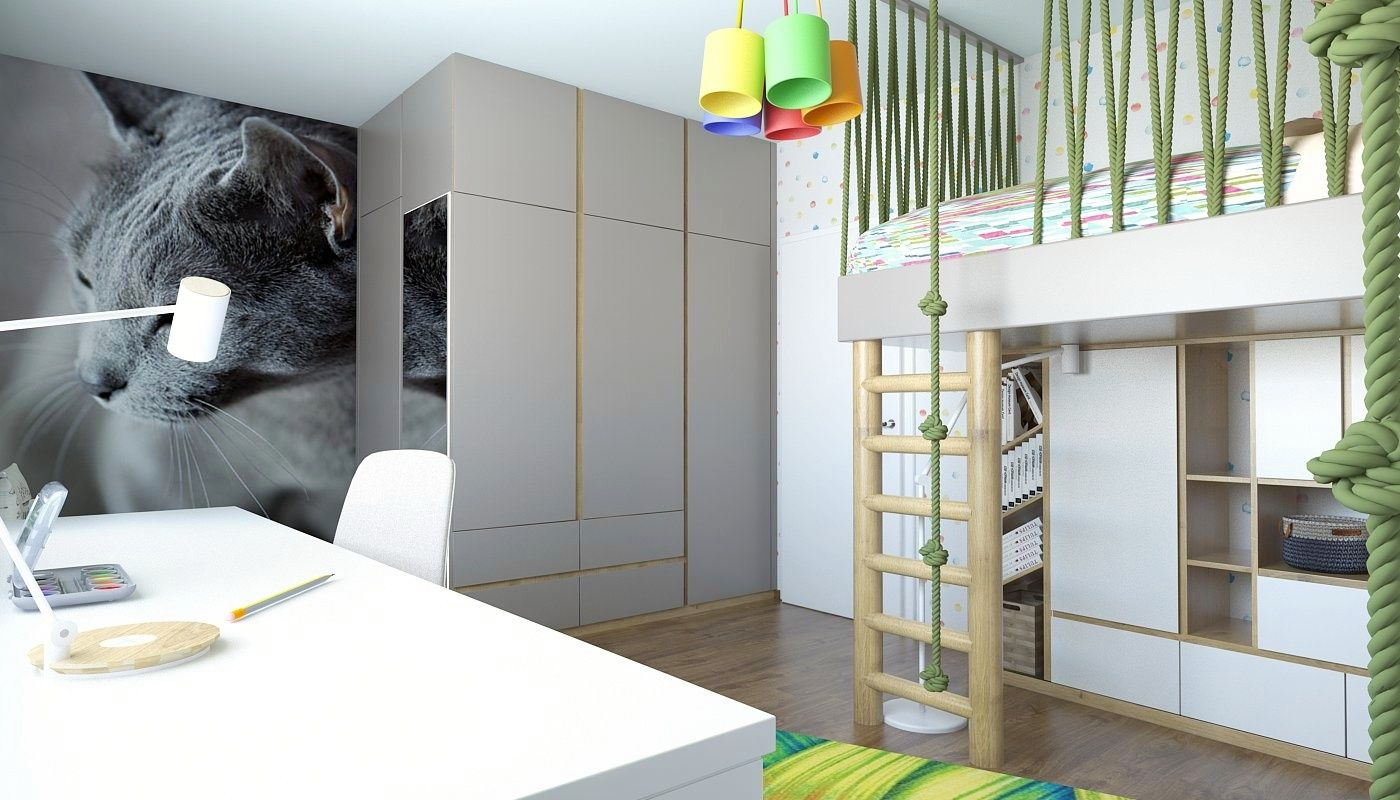 Interierovy dizajn GO DESIGN detska izba