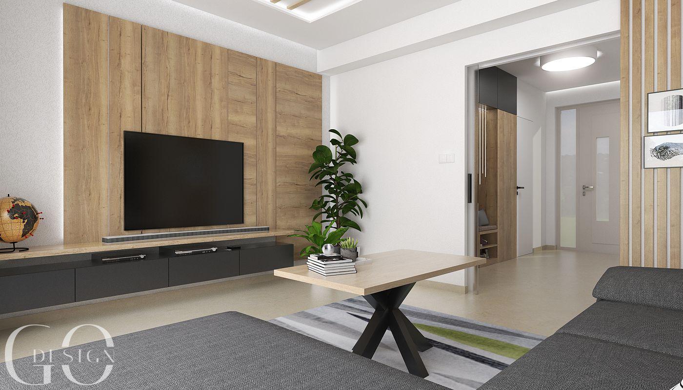 Interierovy dizajn GO DESIGN obývačka_4