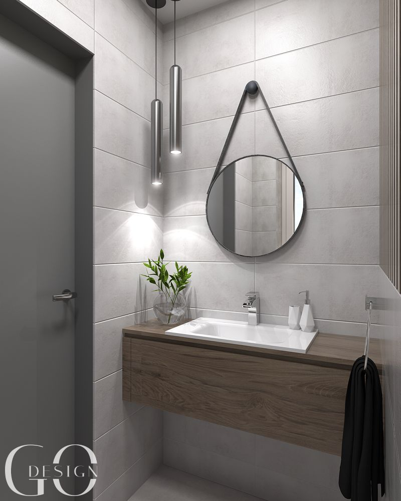 Interierovy dizajn GO DESIGN toaleta