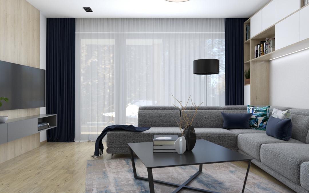 Návrh priestorov domu – okres Trnava