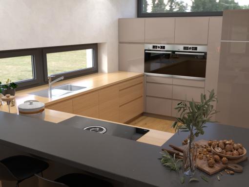 Návrh interiéru moderného domu – Levice