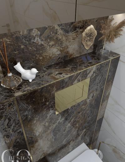dizajnovy luxusny navrh toaleta