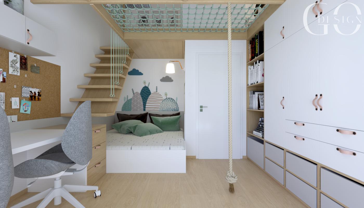 interierovy dizajn detská izba