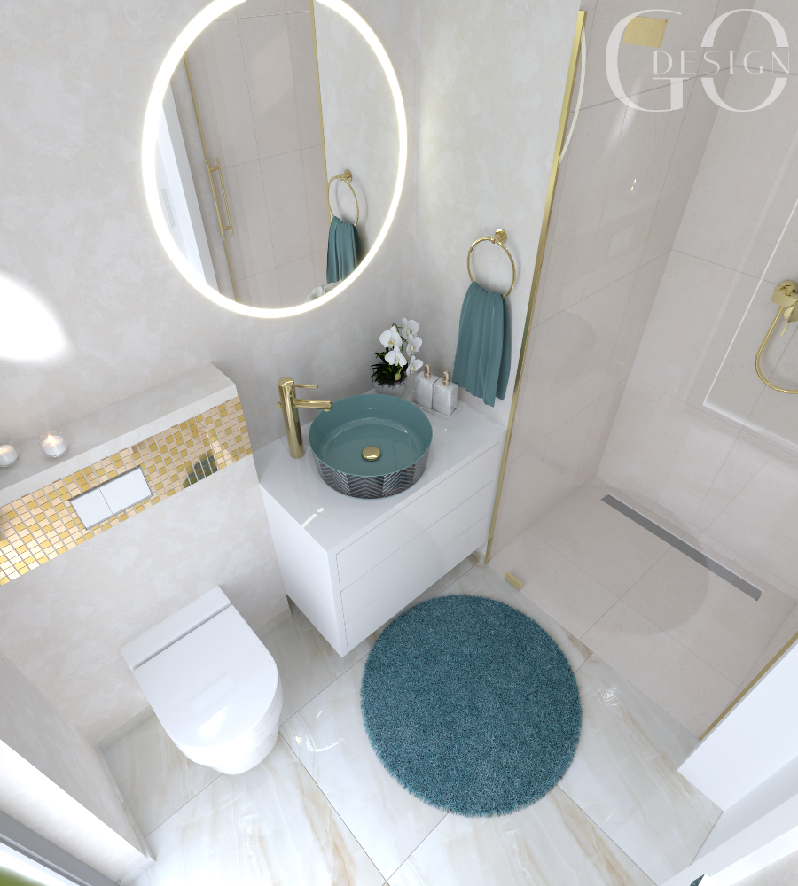 návrh kúpeľne GO DESIGN