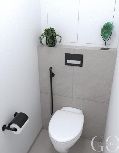 navrh toalety GO DESIGN